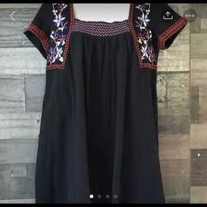 Mexican Style Dress W/ Embroidery, NWT, Small